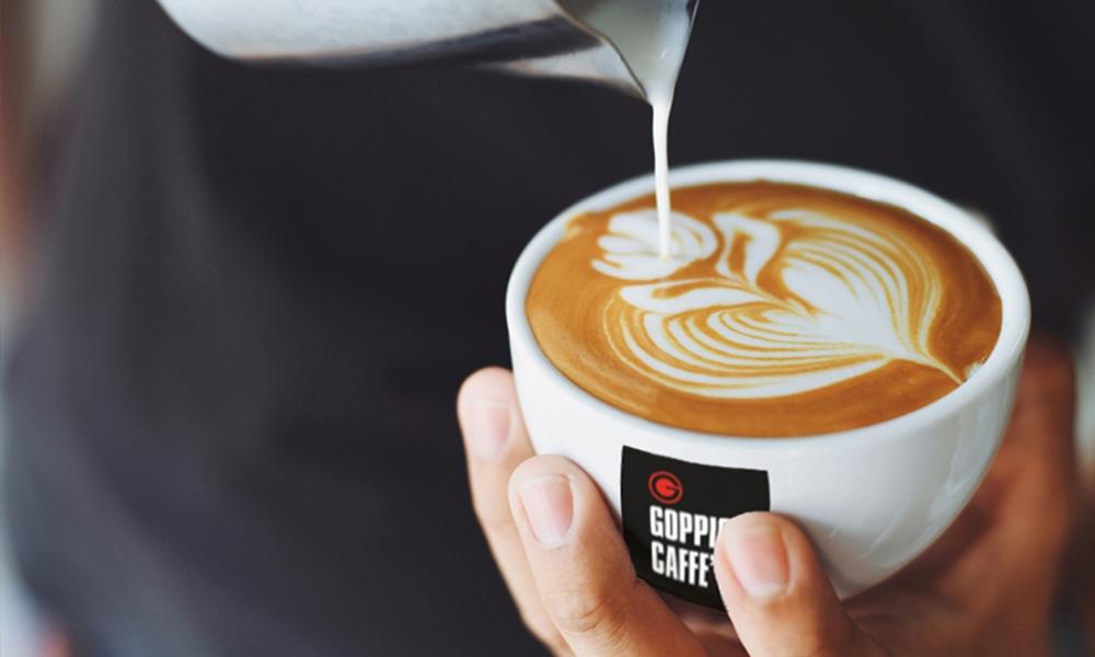 Goppion. Het prijswinnende koffiemerk